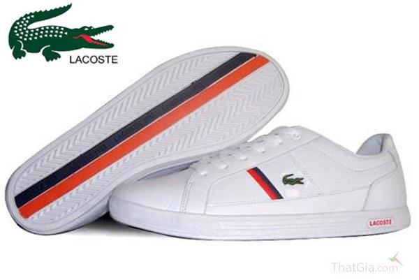 Đế giày Lacoste thật