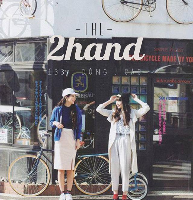 2hand - shop secondhand chất lượng, giá tốt
