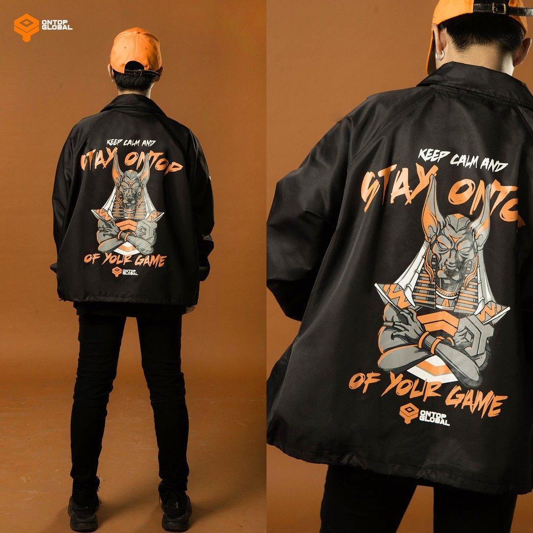 Phản hồi các yêu cầu nhiều nhất của các anhem dành cho Stay Ontop Jacket  sau 2 ngày lên sóng tại shopee.vn/ontop.b… | Streetwear brands, Varsity  jacket, Street wear