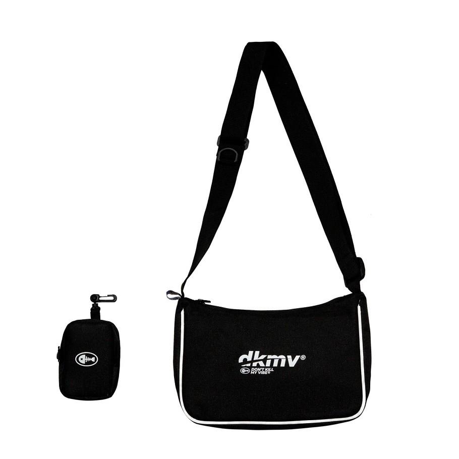 DKMV Túi đeo chéo Hobo Bag - MÀU ĐEN/ Túi đeo chéo vải thời trang giá cạnh tranh