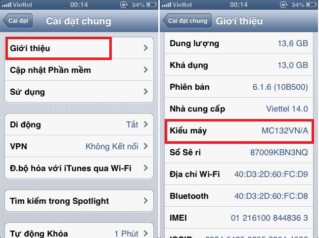 Những lưu ý khi mua iPhone xách tay hình 4